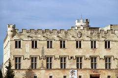 The Popes' Palace in Avignon, France Stock Photography