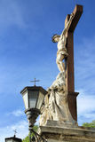 Popes Palace in Avignon, France. Crucifix in The Popes' Palace in Avignon, France Stock Photography