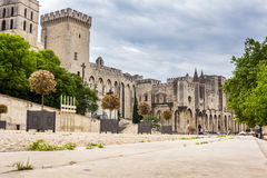 Popes' Palace in Avignon, France, Europe Royalty Free Stock Photography
