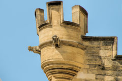 Popes Palace in Avignon, France Stock Photography