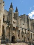 Popes Palace, Avignon Stock Image