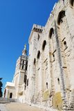 Popes Palace in Avignon Stock Image