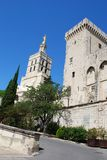 Popes Palace in Avignon Stock Photo