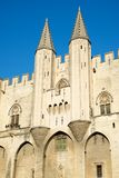 Popes Palace in Avignon. Provence, France Royalty Free Stock Photos