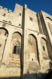 Popes Palace in Avignon Royalty Free Stock Images
