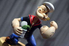 Popeye żeglarz fotografia stock