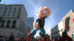 Popeye balloon at parade (2 of 2)