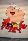 Popeye-Karikatur Lizenzfreies Stockfoto