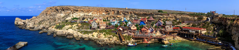 Popeye by på Malta arkivbilder