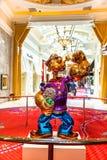 Popeye Sculpture Las Vegas royalty free stock image
