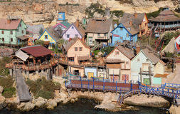 Popeye Village royalty free stock images