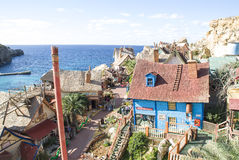 Popeye village in Malta Royalty Free Stock Photography