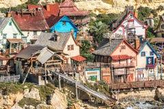 Popeye Village, Malta Stock Photo