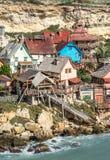 Popeye Village, Malta Stock Photography