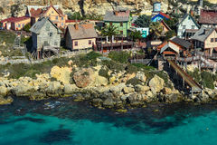 Popeye village Mellieha, Malta Stock Photography