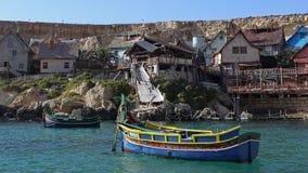 Popeye village , Malta Royalty Free Stock Images