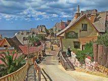 Popeye wioska, Malta fotografia royalty free