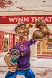 Popeye at the Wynn Las Vegas. stock photo