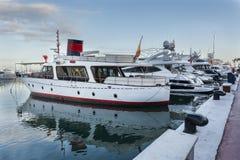 Popeye yacht Royaltyfri Bild