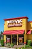 Popeyes Louisiana Kitchen Exterior Stock Photos