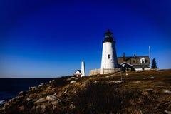 Popham Beach Lighthouse Stock Photos