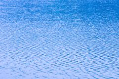 Popiół macha wodę i formy machają fotografia stock