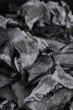 Popióły od papieru palącego Fotografia Stock