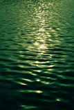 Popiółu dmuchania zieleni woda Fotografia Royalty Free