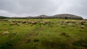 Popielaci kopowie Camster, Szkocja Europe Obrazy Stock