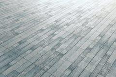 Popielata drewniana podłoga ilustracja wektor