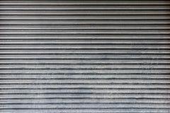 Popielata metalu drzwi tekstura Zdjęcia Stock