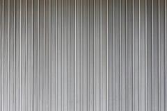 Popielata metalu drzwi tekstura Zdjęcie Stock