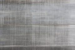 Popielata metalu drzwi tekstura Fotografia Stock