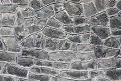 Popielata skały ściany tekstura Zdjęcia Royalty Free