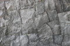 Popielata skały ściany tekstura Obrazy Stock