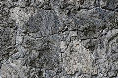 Popielata skały ściany tekstura Fotografia Stock
