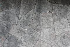 Popielata skały ściany tekstura Zdjęcie Royalty Free