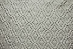 Popielata tkanina z abstrakta wzorem dla tło wizerunku zdjęcia stock