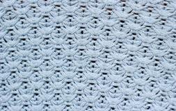 Popielata woolen tekstura Fotografia Stock