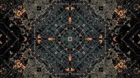 Popielatego i pomara?czowego pasiastego grunge abstrakcjonistyczny projekt ilustracja wektor