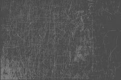Popielatego metalu porysowany tło royalty ilustracja