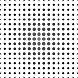 Popielatej i czarnej drobiny bezszwowy wzór Zdjęcie Stock