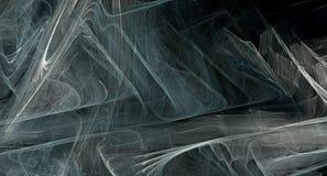 Popielaty abstrakcjonistyczny fractal tło Zdjęcie Royalty Free