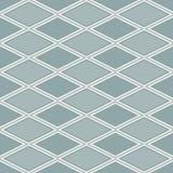 Popielaty abstrakta wzór z rhombus Fotografia Royalty Free