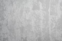 Popielaty grunge betonowej ściany tło, cementowa budowy tekstura Zdjęcie Stock
