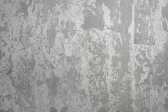 Popielaty grunge betonowej ściany tło, cementowa budowy tekstura Fotografia Stock