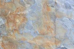 Popielaty i brown blok iłołupka kamienia tekstura Obrazy Stock
