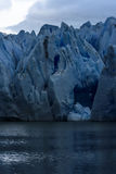 Popielaty lodowiec, Torres Del Paine, Patagonia, Chile Obrazy Royalty Free