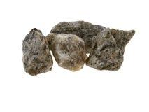 popielaty mały niektóre kamienie Obrazy Stock