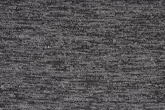 Popielaty materiał z abstrakta wzorem, tło Zdjęcia Stock